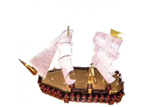 Корабль из конфет для детей и взрослых
