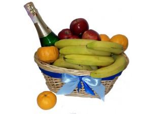 Корзина фруктов ко дню рождения №242