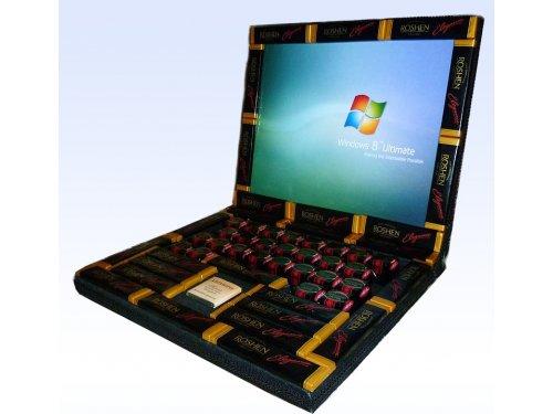 Ноутбук из конфет №409