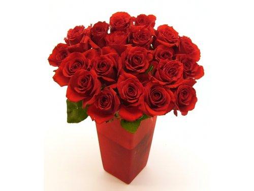 Букет красных роз №381