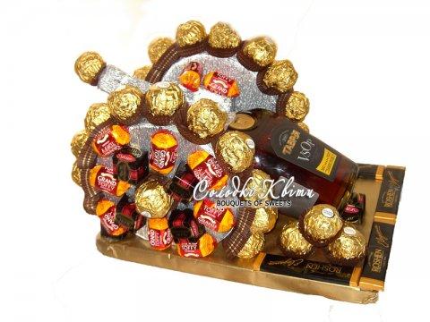 Пушка из конфет №009