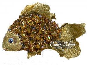 Сandy goldfish