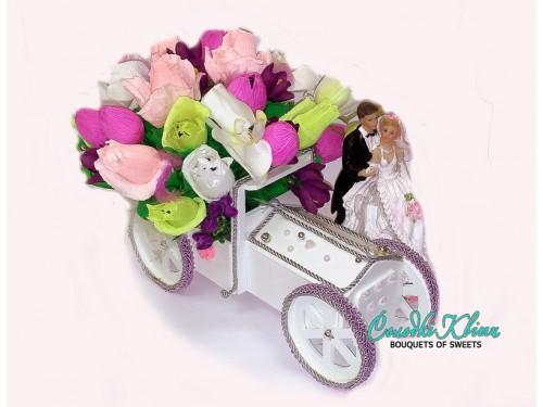 Подарок на свадьбу - свадебный кортеж