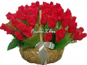 Букет из конфет для мамы