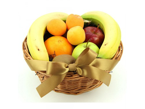 "Корзина с фруктами ""Ассорти"" №182"
