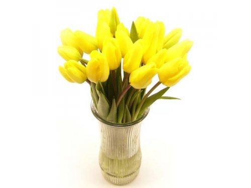 Букет желтых тюльпанов №393